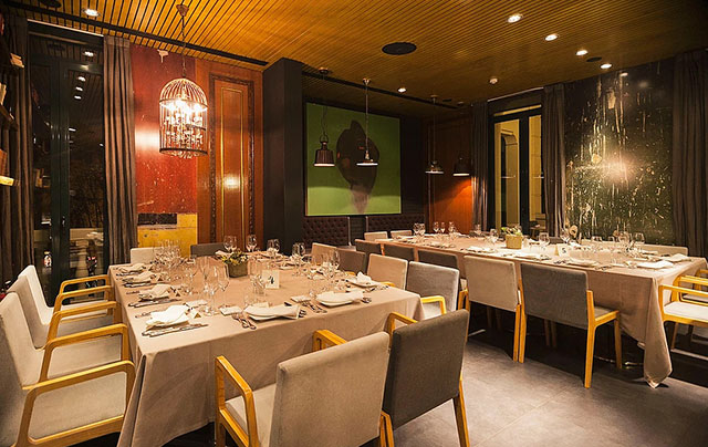 Restaurante privado para fiesta primera comunion