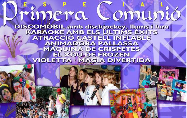 Fiesta primera comunion