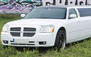 Limusina Dodge Blanca