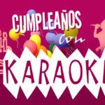 Cumpleaños con karaoke