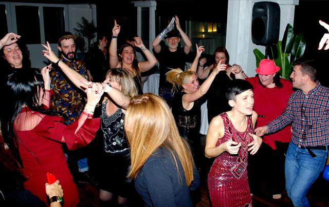 Baile con discomóvil