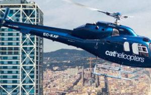 Alquiler de helicópteros en Barcelona